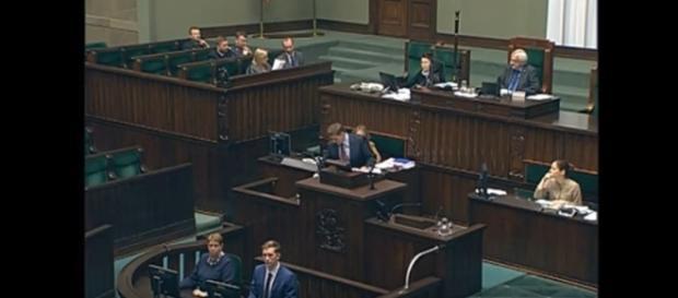 Posiedzenie Sejmu RP - Bartosz Kownacki