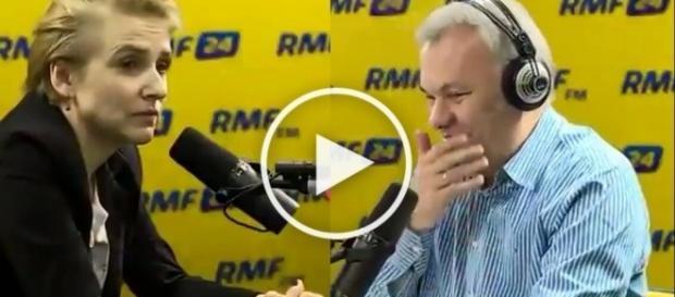 Scheuring Wielgus ośmiesza się w radiu RMF FM