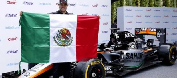 """Sergio """"Checo"""" Pérez y su cuarta temporada con el equipo Force India"""