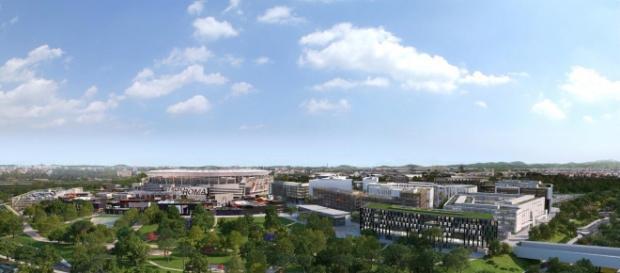 Stadio della Roma: eliminate dal progetto le 3 torri