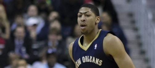 Anthony Davis of the Pelicans led all New Orleans' scorers with 29 points in a loss to the Rockets. [Image via Flickr Creative Commons]