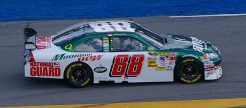 Dale Earnhardt Jr. is odds on favorite to win the 2017 Daytona 500 on Sunday. [Image via Flickr Creative Commons]