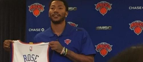Derrick Rose. Photo credit: www.sny.tv