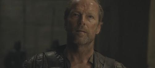 Game of Thrones season 7 spoilers - Jorah Mormont. Screencap: Kristina R via YouTube