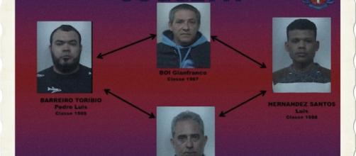 I quattro sono stati fermati ad un posto di blocco dai Carabinieri.