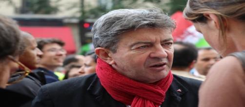 Jean-Luc Mélenchon le 10 septembre 2013 à la manifestation contre la réforme des retraites