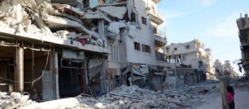 La distruzione di al-Bab dopo l'assedio