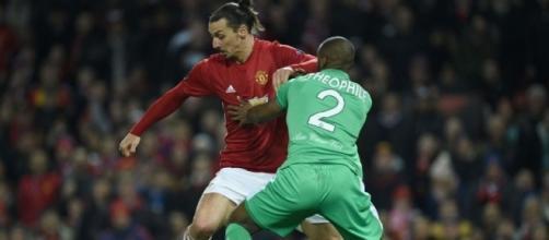 Ligue Europa : Ibrahimovic éteint Saint-Etienne, Lyon a un pied et ... - leparisien.fr