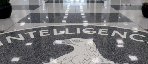 Symbol in floor at Centrail Intelligence Agency (CIA) heaquarters / Photo by Saul Loeb, Blasting News library