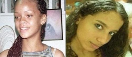 Veja Rihanna (à esquerda) e Anitta antes da fama