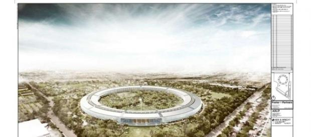 Apple's new campus opens to employees, public this year - sfgate.com