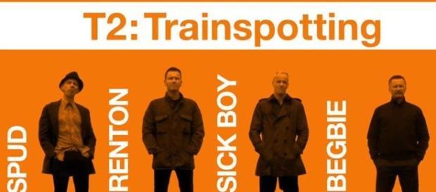 Cartel promocional de Trainspotting 2.