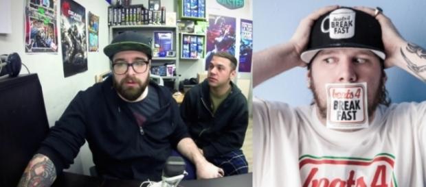 Gli Arcade Boyz a sinistra, Nitro a destra.