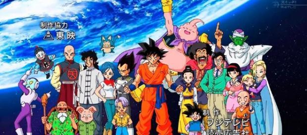 Imagen promocional de Dragon Ball Super