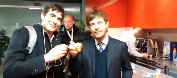 Nicola Fratoianni e Pippo Civati. L'unità è Possibile? (Foto esclusiva Blasting News)