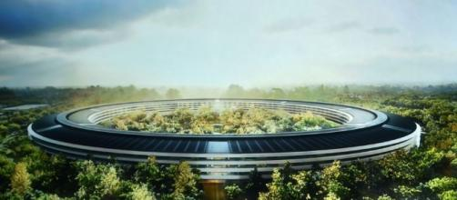 Apple's 'spaceship' campus to open in April | Photo: cnet.com