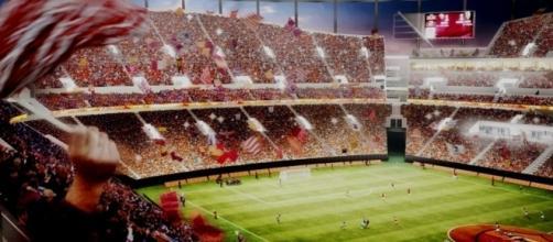Gli interni del nuovo stadio della Roma in base al progetto del club capitolino