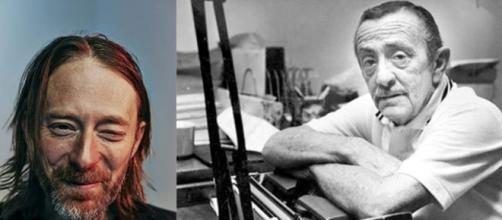John Fante frente a su máquina de escribir y Thom Yorke