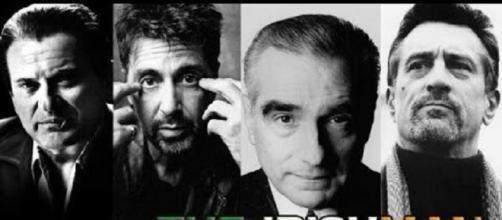"Martin Scorsese's the ""Irish Man"" [ Image credit - twitter ]"