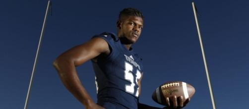 Openly gay football recruit My-King Johnson will make history with ... - tucson.com