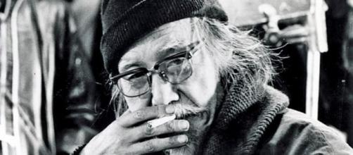 Seijun Suzuki on the set of one of his films. Obituaries | Hollywood Reporter - hollywoodreporter.com (Taken from BN Library)