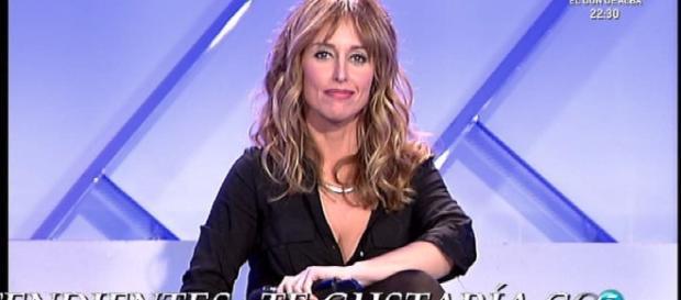 Emma Garcia en uno de sus programas