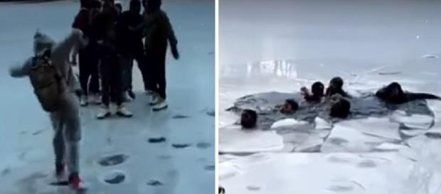 Jovens quase morreram em lago no famoso Central Park em Nova York