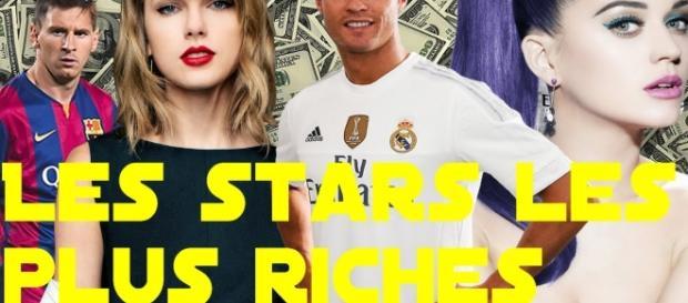 Les stars les plus riches: les voici!