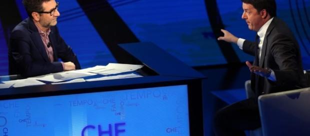 Renzi ospite a 'Che tempo che fa' - today.it