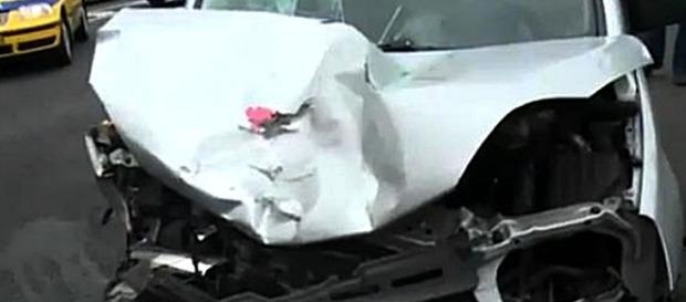 Vítima foi projectada para a berma após ter sido colhida com violência