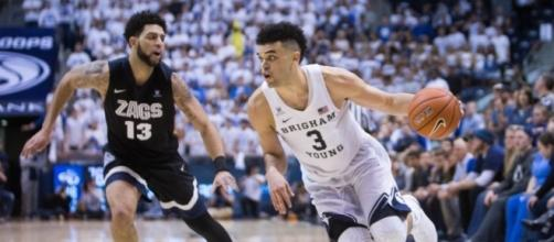 Brigham Young pulled off a stunning upset over undefeated Gonzaga on Saturday. [Image via Blasting News images library - byu.edu]