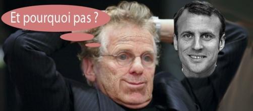 """Daniel Cohn-Bendit, dit """"Dany le Rouge"""" antan, n'exclut pas de voter utile, soit Emmanuel Macron, en tête des sondages hors FN."""