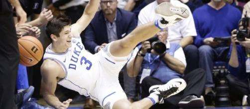 Duke was among top 25 teams to fall in Saturday's college basketball games. [Image via Blasting News images library/inquisitr.com]