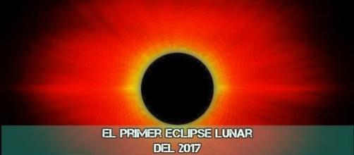 """El primer """"Eclipse Lunar"""" del 2017 según nos informa la NASA by """"NASA"""""""