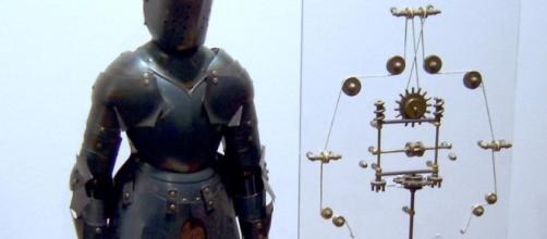Fue Leonardo Da Vinci el primero en diseñar un robot basándose en sus estudios sobre anatomía humana