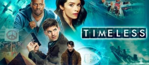 Timeless tv show logo image via Flickr.com
