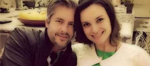 Vitor Chaves e a esposa Poliana