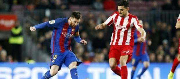 25ª rodada do 2º turno: Barcelona 6x1 Gijón