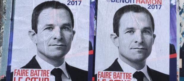 Benoît Hamon - affiche - CC BY