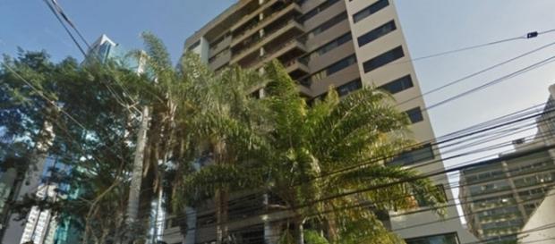 Crime ocorreu neste prédio na rua Bandeira Paulista