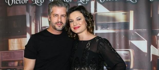 Poliana Chaves desmente acusação de agressão por parte do cantor Victor (Foto: Reprodução)