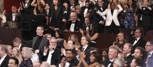 "Fonte Ansa ""Oscar del cinema"" 2017 platea"