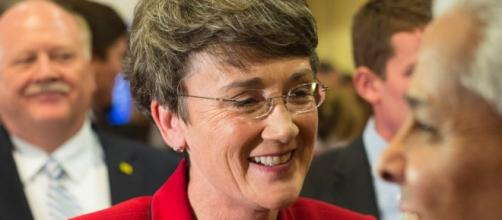 Heather Wilson at event in 2012 / Photo by Jake Schoellkopf via Blasting News library