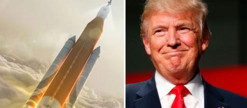 Is one space program a part of Trump's plans for being reelected in 2020?/ Photo via NASA & Jeff Kowalski