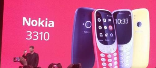 Retro classic Nokia 3310 returns to the mobile phone scene, with contemporary additions. / Photo from 'Yahoo' - yahoo.com