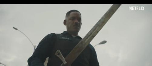 Will Smith might have to save the world again /Photo via Youtube-BRIGHT Official Trailer (2017) Will Smith Sci-Fi Action Movie HD-Joblo Movie trailers