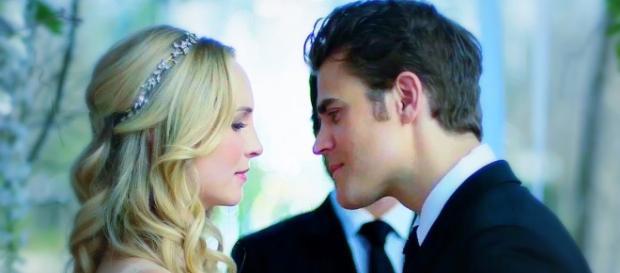 Caroline vira o principal alvo de Katherine Pierce.