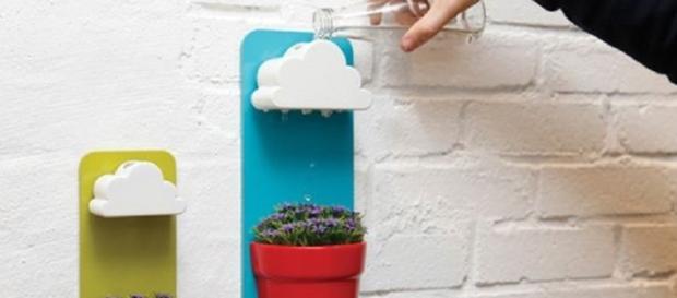 Faça chover em suas plantas com esses divertidos vasos