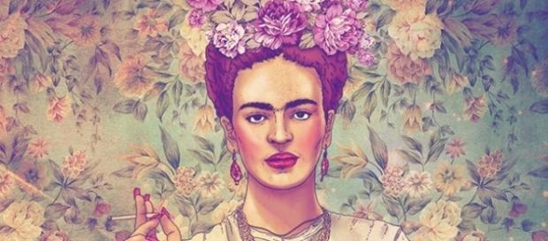Frida Kahlo é modernizada nas ilustrações do Chileno Fabian Ciraolo - Foto divulgação