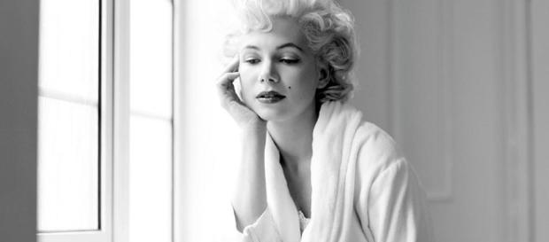 Michelle Williams in her portryal of Marilyn Monroe. - movieweb.com (Taken from BN Library)